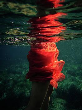 Red Mermaid by Gemma Silvestre