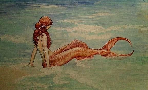 Red Mermaid by Maria Elena Gonzalez