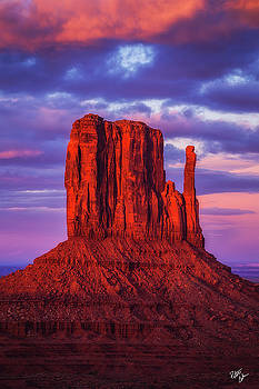 Red Mitten by Peter Coskun