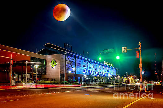 Tracy Brock - Blood Moon Eclipse Over Regions Park