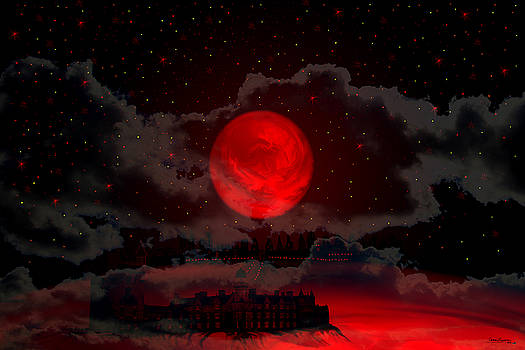 Red Moon Planet by Andrea Lawrence