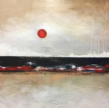Red Moon by Germaine Fine Art
