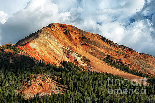 Red Mountain Colorado in Fall by Tibor Vari