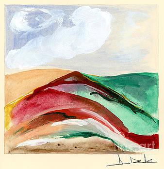 George D Gordon III - Red Mountain Dawn