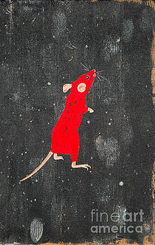 Red mouse by Stefanie Forck