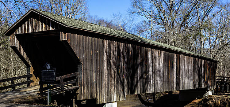 Red Oak Creek Covered Bridge by Randy Bayne