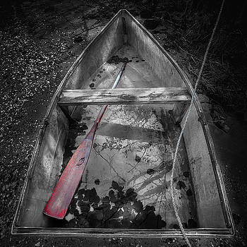 Red Oar by Dapixara Art