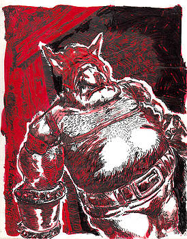 Red Ogre by Tobey Anderson