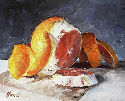 Red Orange by Irek Szelag