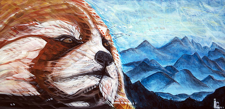 Red Panda by Larry Calabrese