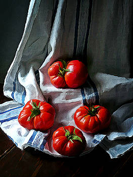Red passion by Binka Kirova