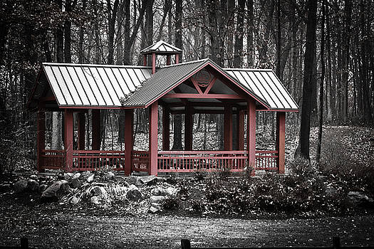 Red Pavilion by Scott Heister