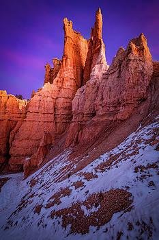 Red Peaks by Edgars Erglis