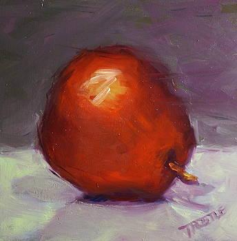 Red Pear Print by Patti Trostle
