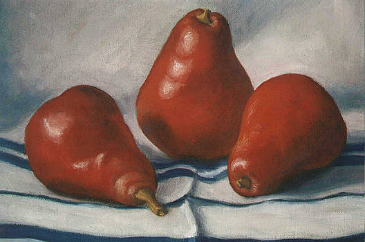 Ruth Soller - Red Pears