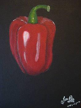 Red Pepper by Tonya Hoffe