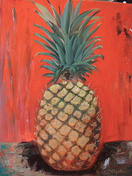 Red Pineapple by Erick Charpentier