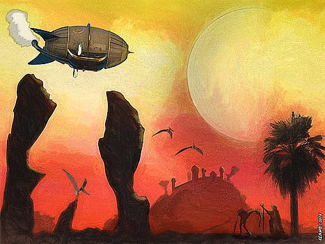 Red Planet by Ken Morris