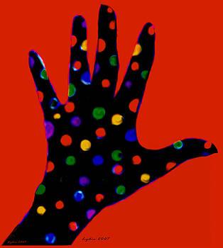 Lydia L Kramer - Red Polka Dot Hand