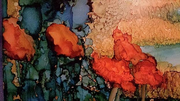 Red Poppies by Betsy Carlson Cross