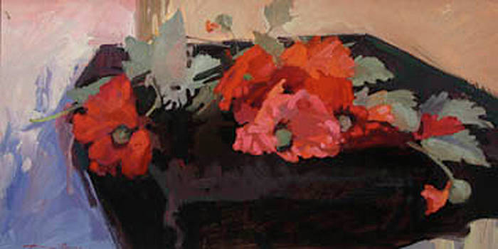 Red Poppies by Betty Jean Billups