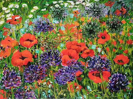 Red Poppies by Ingrid Dohm
