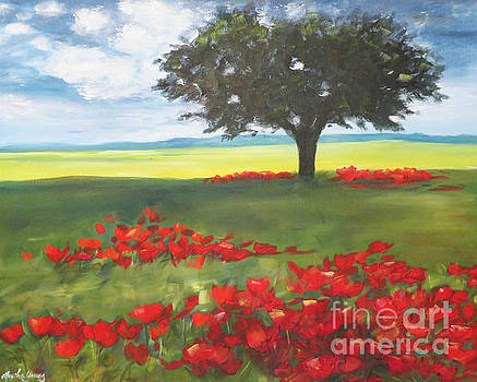 Red Poppies by Marsha Young