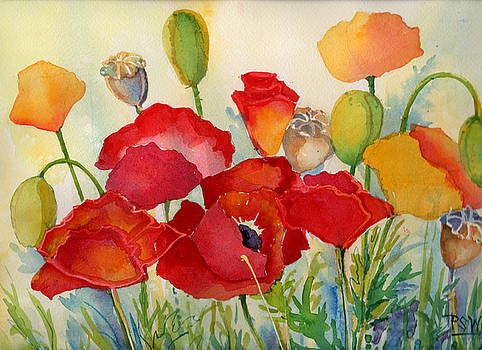 Peggy Wilson - Red Poppies