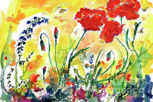 Ginette Callaway - Red Poppies Provence 2017