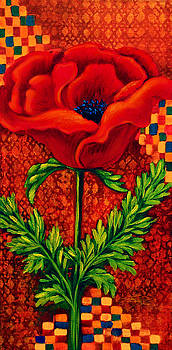 Red Poppy 2 by Lynn Lawson Pajunen