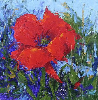 Red Poppy by Monica Burnette