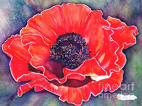 Red Poppy by Norma Boeckler