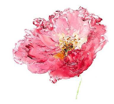 Jan Matson - Red Poppy painting