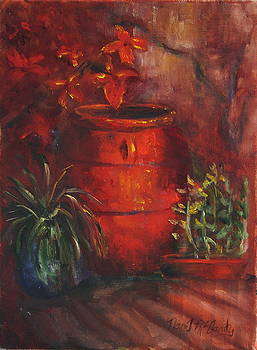 Red Pot by Nan McGarity