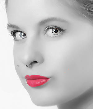 Red Red Lips by Roger McBee