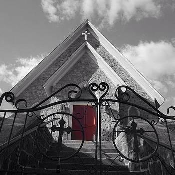 Presbyterian Church #1 by Sharon Halteman