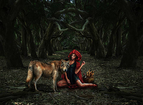 Virginia Palomeque - Red Riding Hood