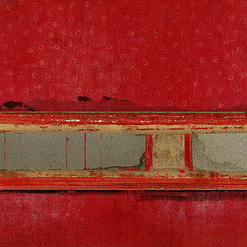 Carol Leigh - Red Riley Collage Square 1