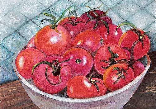 Red Ripe and Ready by Marsha Woods