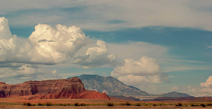 Red Rock and Desert by Thomas Pettengill