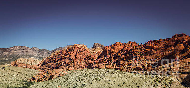 Red Rock Canyon #3 by Blake Webster