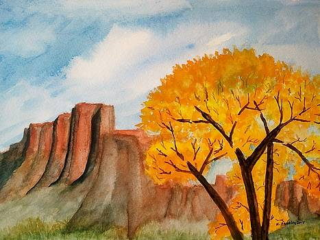 Red Rock Canyon by B Kathleen Fannin