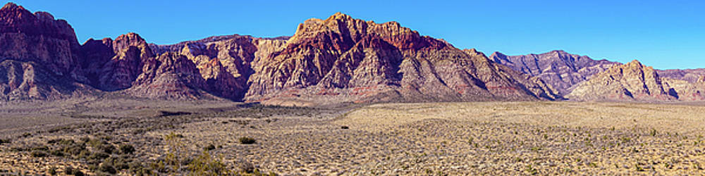 Red Rock Canyon NCA Pano by Janis Knight