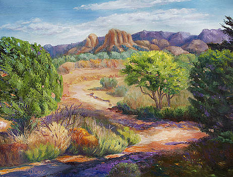 Red Rock Crossing by Diana Cox