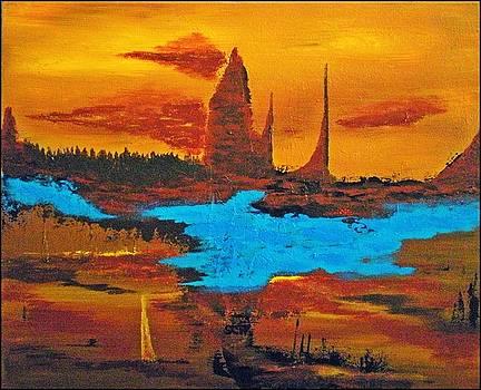 Red Rock Desert Sentinels by Scott Haley