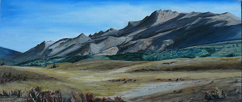 Red Rock landscape by Seth Johnson