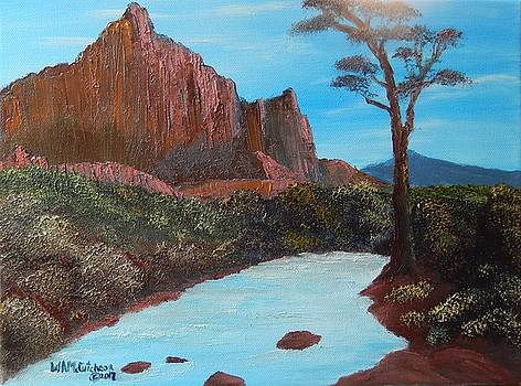 Red Rocks at Big Bend by William McCutcheon