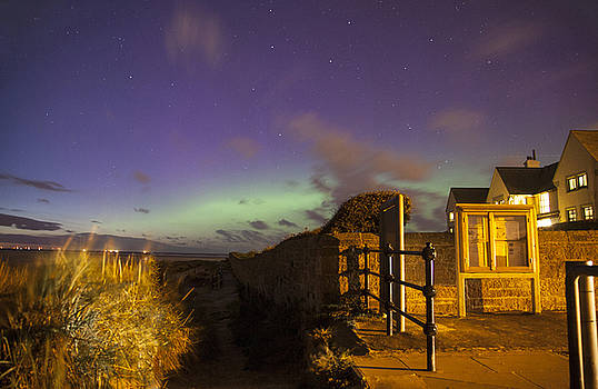 Red Rocks Aurora by David Chennell