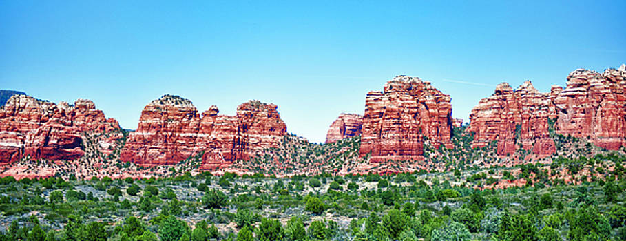 Red Rocks of Coconino National Forest in HDR by Frank Feliciano