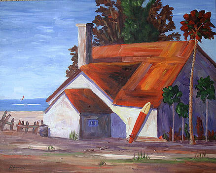 Red Roof by Bob Phillips